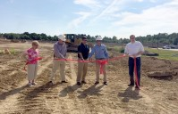 GROUNDBREAKING KICKS OFF WALMART SUPERCENTER CONSTRUCTION AT BAYTOWNE